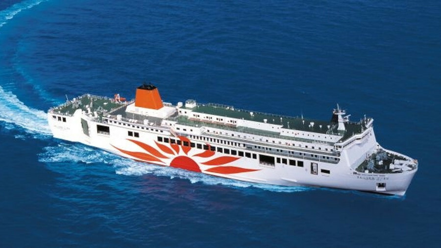 The collaboration will be on board 165 m passenger ferry Sunflower