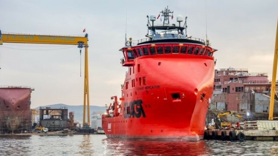 Esvagt Mercator does not have a motion-compensated gangway like many SOVs and will use boats to tran
