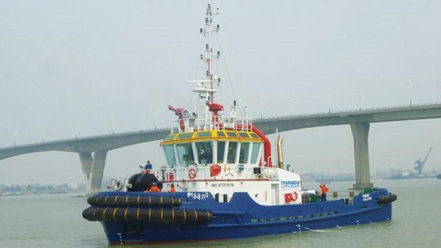 Tramarsa operates a fleet of tugs including 2015-built Pomac in Peru