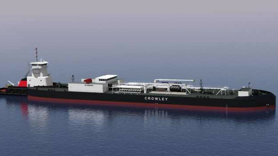 Crowley ordered an ATB for its Alaska operations in January 2018