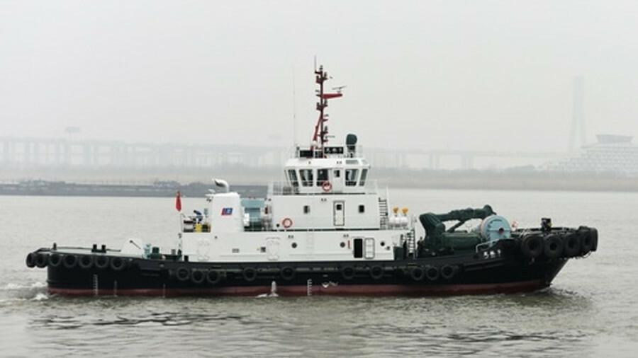 Jiangsu Zhenjiang Shipyard builds ASD harbour tugs for Chinese ports