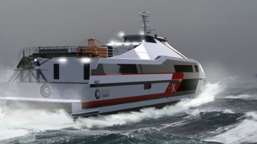 The Voyager 38 X is designed for high speed transits with excellent seakeeping, comfort and fuel eco