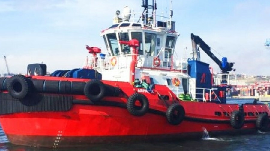 Eregli 52 is a RAmparts 2500W design tug with a top sailing speed of 12 knots