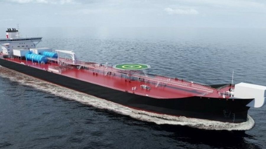 The new shuttle tanker concept brings economic and environmental benefits to owners (credit: Wärtsil