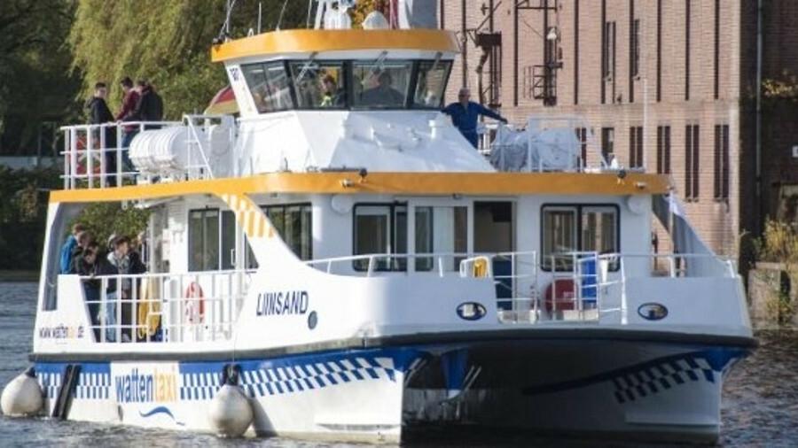 Watten Fährlinien equips new catamaran with the recently-developed COBRA battery system from Becker