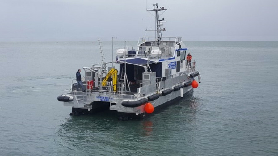 Stapem Beluga will be followed into service by a sister unit, Stapem Narval, which is currently unde