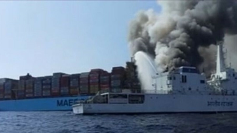 The remains of three of the four missing crew members have been found on board Maersk Honam