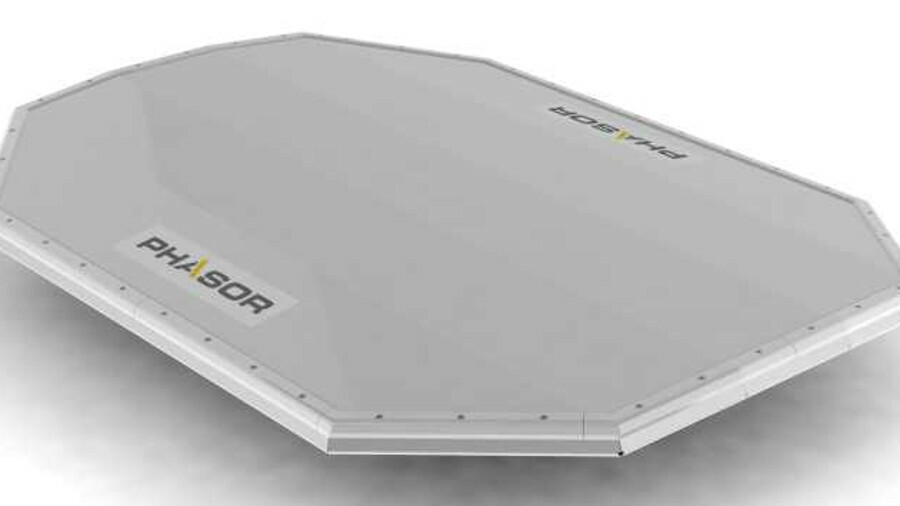 Phasor will test its electronically steered, flat panel antennas in sea trials this year