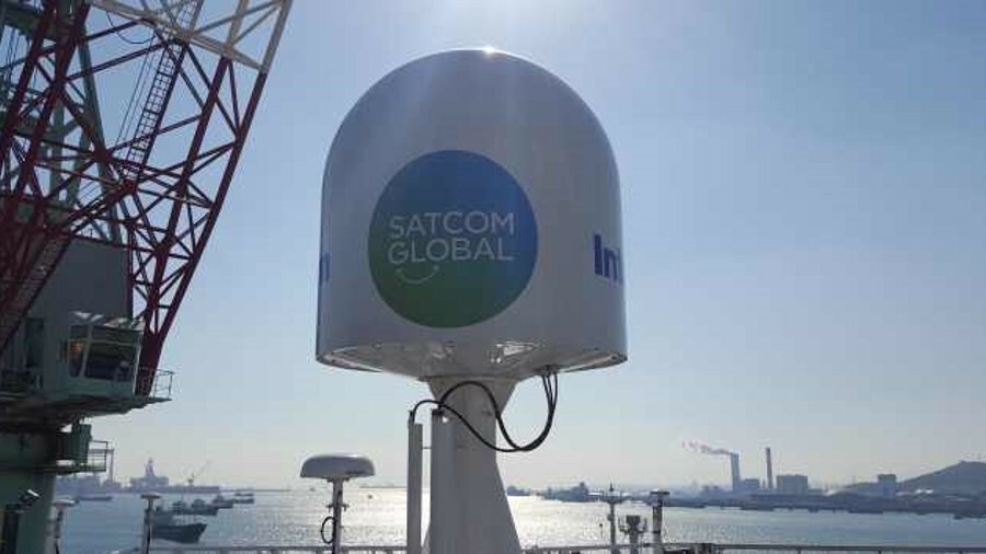 Satcom Global VSAT provides broadband connectivity to fleets of ships