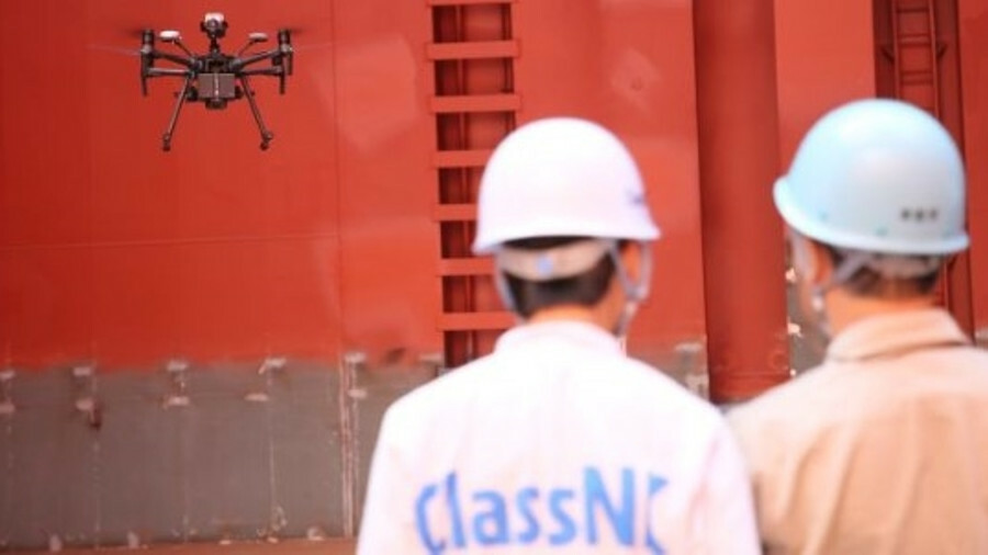 ClassNK has developed its Guidelines for Use of Drones in Class Surveys, which includes operations i