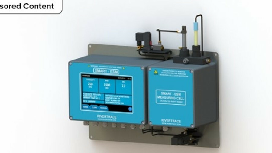 Smart ESM wash water monitor for ship exhaust gas cleaning systems