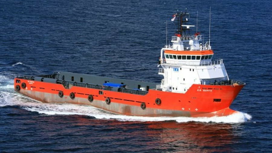 ER Narvik is one of two PSVs recently sold to Standard Drilling