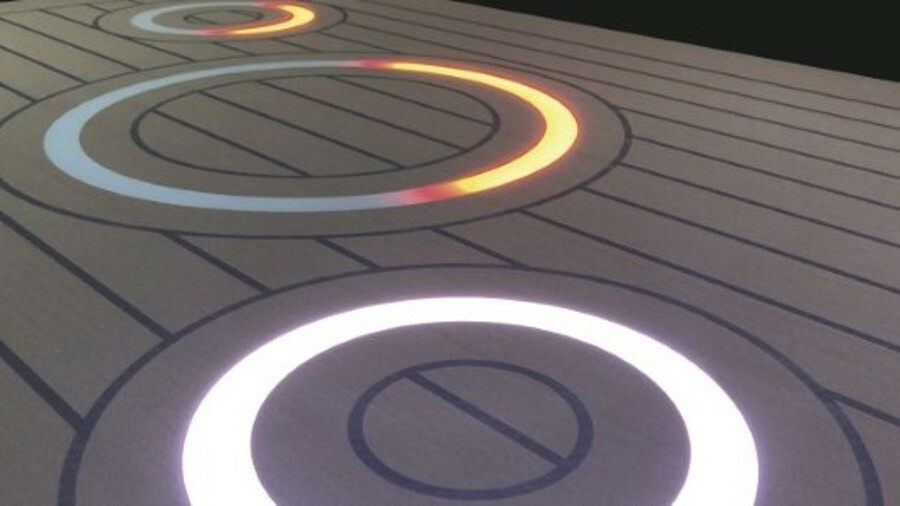 Bolidt has launched decking embedded with LED lighting