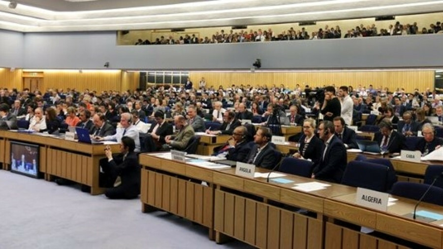 MEPC 72 was a crowded session and included important ballast water management decisions (credit: IMO