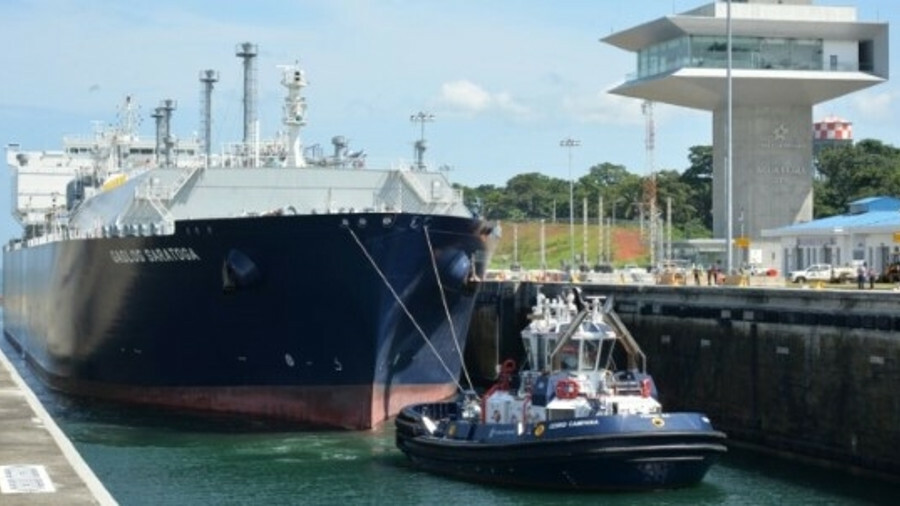 The Panama Canal handled its 300th LNG carrier transit in March 2018