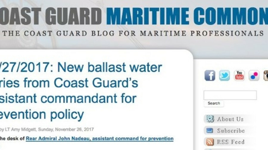 USCG makes changes to ballast rules