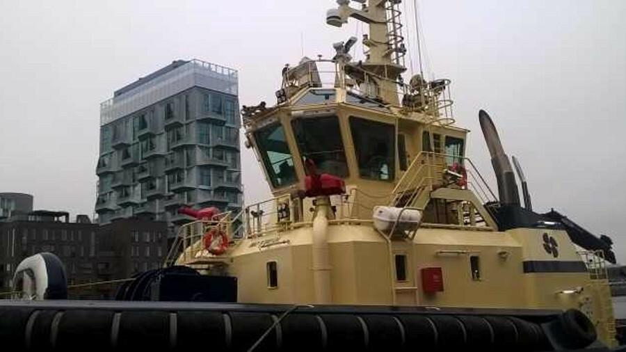 <i>Svitzer Hermod</i> was remotely controlled during trials in Copenhagen, Denmark, in November 2017