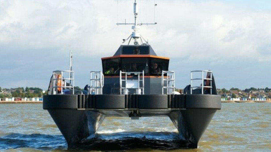 CWind, one of whose vessels is shown here, provides cable and asset management services topside and