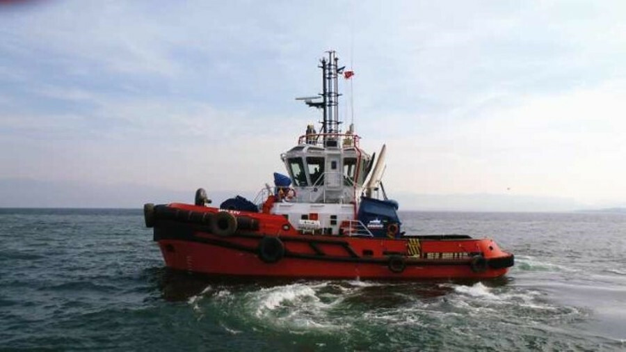 Med XXVI was the third of six RAmparts 2300-MM model tugboats that Med Marine is constructing for it