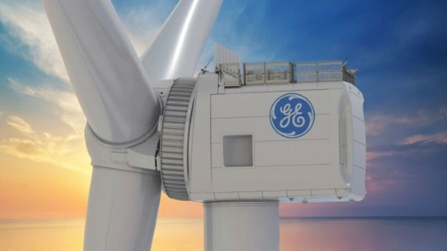 GE's 12 MW turbine will have a rotor diameter of 220 m, 107 m blades designed by LM Wind Power and a