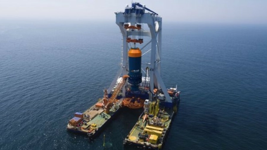 The environmentally-friendly Blue Hammer will be tested offshore on Van Oord's vessel Svanen