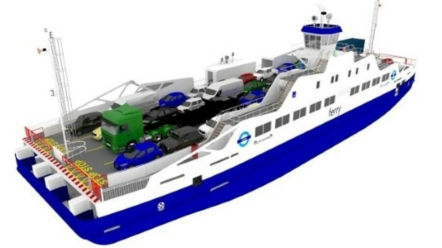 The Transport for London battery ferries being built by Remontowa Shipbuilding are due to start oper
