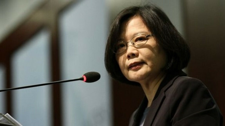 Taiwanese president Tsai Ing-wen is committed to using offshore wind to replace nuclear power (photo
