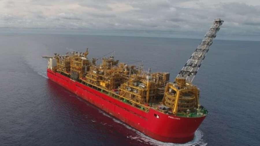 Shell's Prelude and other major projects have created LNG-related work for OSVs (credit: Shell)