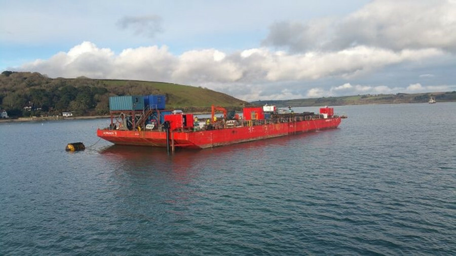 Reygar's DP system was installed on Keynvor Morlift's multipurpose barge Mormaen 15 for trials