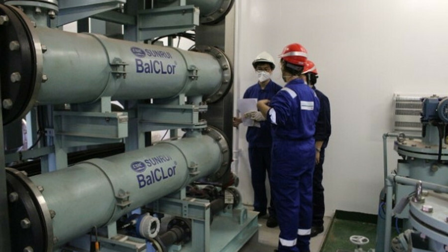 Sunrui's BalClor – seen here during its USCG testing – has now gained approval to IMO's revised G8 s