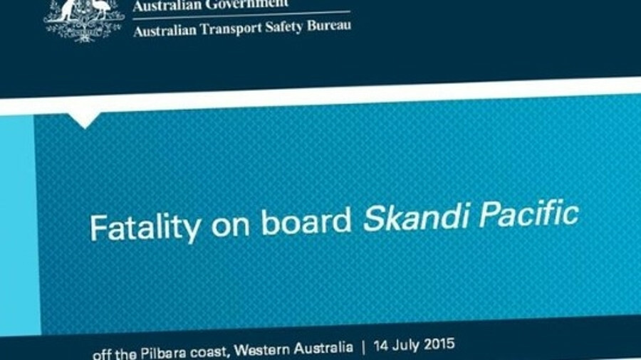 ATSB's report described the events that led up to a fatality on an OSV off Australia