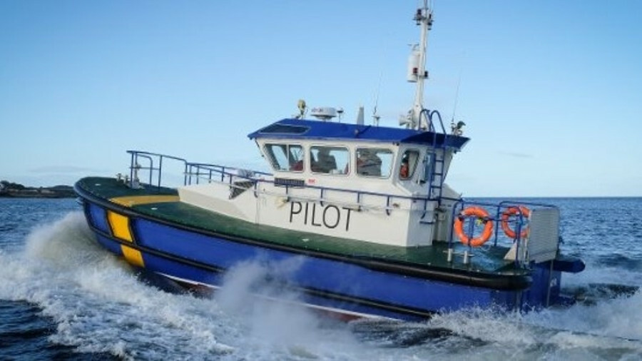Macduff designed a pilot vessel for the port operator in Ayr, Scotland