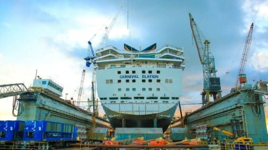GBS provided a full turn-key solution for the revitalisation of Carnival Elation