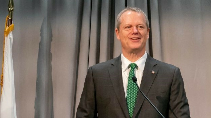 Governor Charlie Baker is a keen advocate of offshore wind energy
