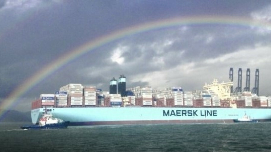 Despite its position as top of the league when it comes to tonnage, Maersk is conservative when it c