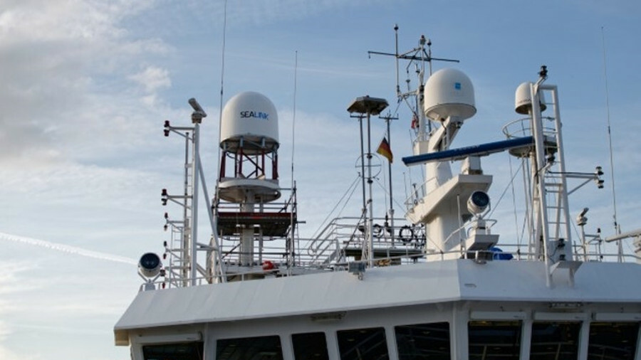 Marlink provides Sealink VSAT including antennas on passenger ships
