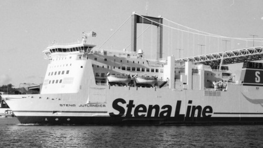 Stena Jutlandica is being retrofitted with a self-contained battery storage solution. Credit: Jean-P