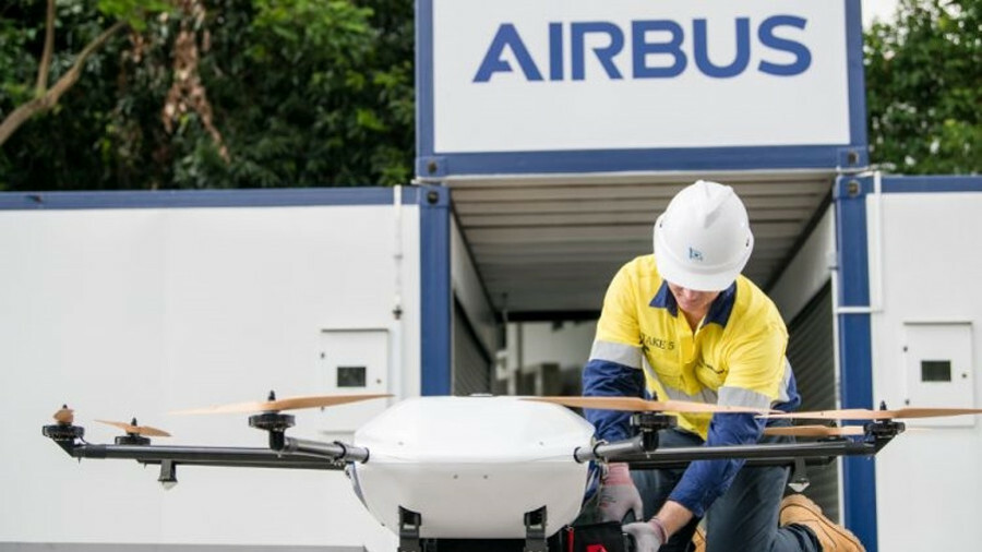 Wilhelmsen Ships Service and Airbus take drone deliveries development to a higher level