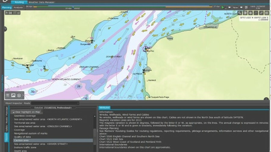 C-Map provides optimised and safe routeing information to Chevron Shipping