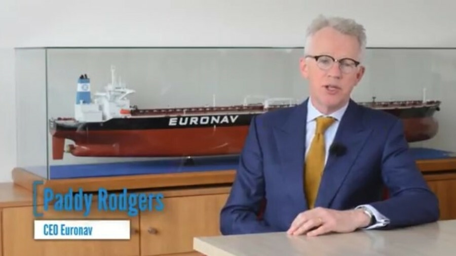 """Paddy Rodgers (Euronav): """"Today marks an important milestone in the continued development of Euronav"""