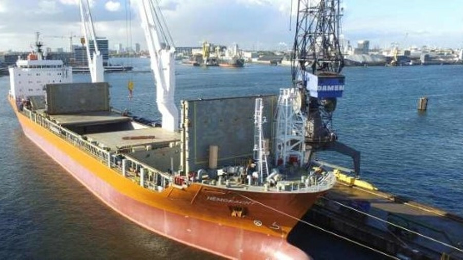 Spliethoff Group's Heemskerkgracht uses SPOS weather routeing for reducing fuel costs during voyages