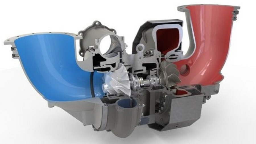 A KBB ST6-EP turbocharger, part of its successful ST27-EP range (credit: KBB)