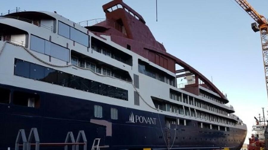 Le Lapérouse was built at Norway's Vard Shipyard. Credit: Ponant