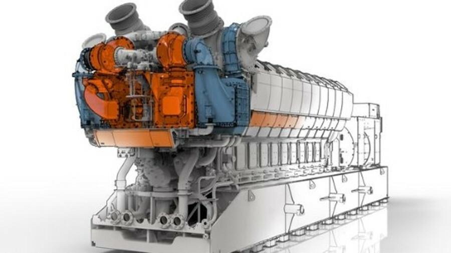 Turbocharging plays a key role in making the Wärtsilä 31SG efficient (credit: Wärtsilä)