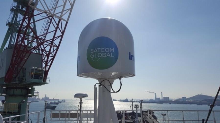 Zodiac is installing Aura VSAT with Intellian v100 antennas on 80 ships
