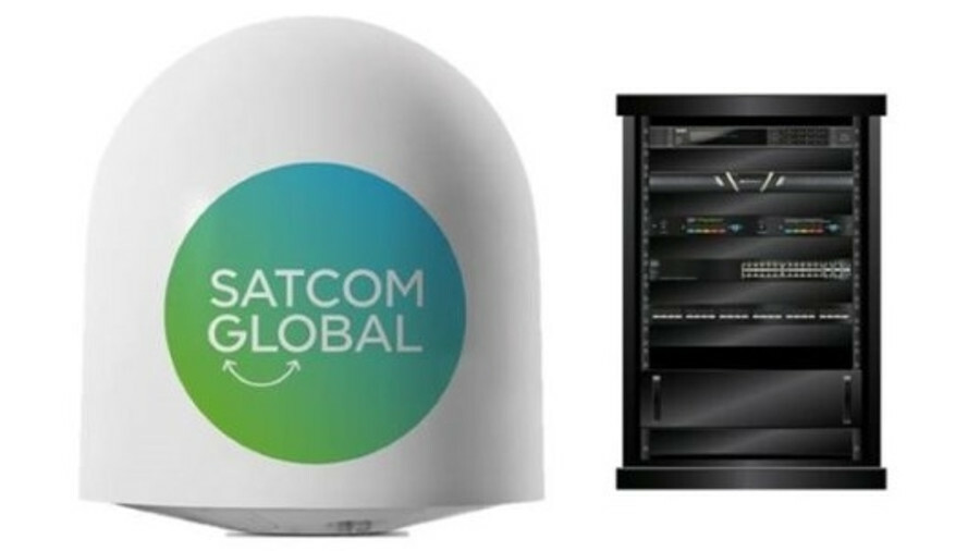 Satcom Global installed an antenna and IPSignature 4 device on each ships