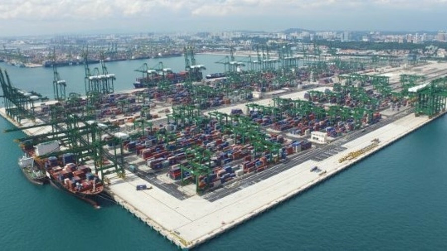 PSA has seen its volumes rise in Sigapore and is developing Pasir Panjang Terminal phases to boost c