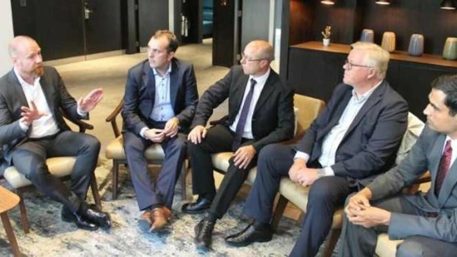 IoT webinar panelists (L - R): Hans Ottosen (Danelec), Mark Warner (Inmarsat), Moderator: Martyn Win