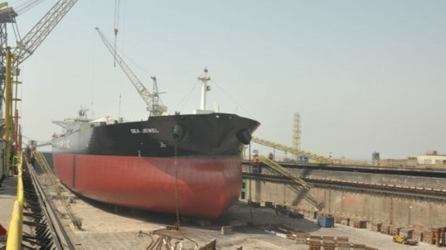 AMPTC VLCC Sea Jewel receives Hyundai BWMS retrofit from ASRY