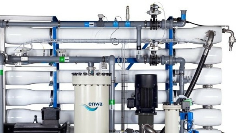 Enwa has recently delivered, or has on order, a number of its RO type Water Maker units for cruise s